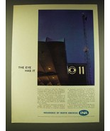 1960 INA Insurance by North America Ad - The eye has it - $14.99