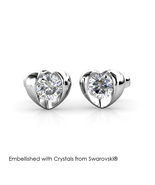 Simply Love Earrings - Embellished with Crystals from Swarovski® - $19.95