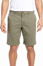 $79 Tommy Bahama Mens Shorts Solid Relax Khakis Chinos, Dusty Olive, 30 - $45.53
