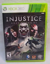 INJUSTICE Gods Among Us Microsoft Xbox 360 VIDEO GAME Batman Dc Comics - $14.85