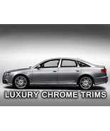 Audi A6 Stainless Steel Chrome Pillar Posts by Luxury Trims 2005-2011 (6... - $69.80