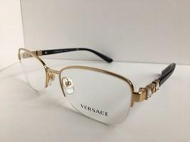 New Elegant Versace Mod. 1230-B 1002 54mm Semi-Rimless Women's Eyeglasse... - $179.99