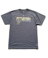 Pittsburgh Pirates Men's Majestic T-Shirt Size Large Gray MLB Baseball - $9.90