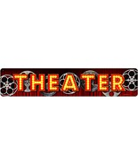 """THEATER Metal Sign 28"""" by 6"""" - $29.95"""