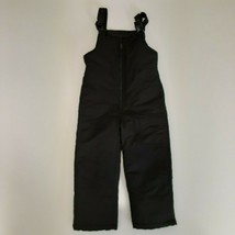 LONDON FOG KIDS BLACK SNOW OVERALLS, INSEAM 18 LENGTH 28 (FULL BODY) - $13.99