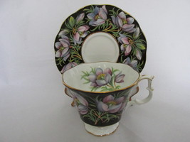 Royal Albert Bone China Provincial Flowers Chintz Cup & Saucer - Prairie Crocus - $24.99