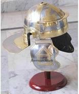 Mitwa Hukum 18G Medieval SCA LARP Roman Gallic/Centurian Helmet Cosplay ... - $95.00