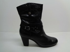 Aerosoles Size 11 M SERIAL PORT Leather Ankle Heels Boots New Womens Shoes - $107.91