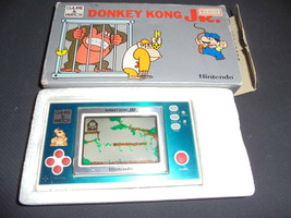Nintendo Game Watch Donkey Kong Jr. With Box Jr Rare Items - $401.66