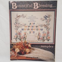 Bountiful Blessing Sampler Cross Stitch Pattern Leaflet 20 Stoney Creek ... - $9.99