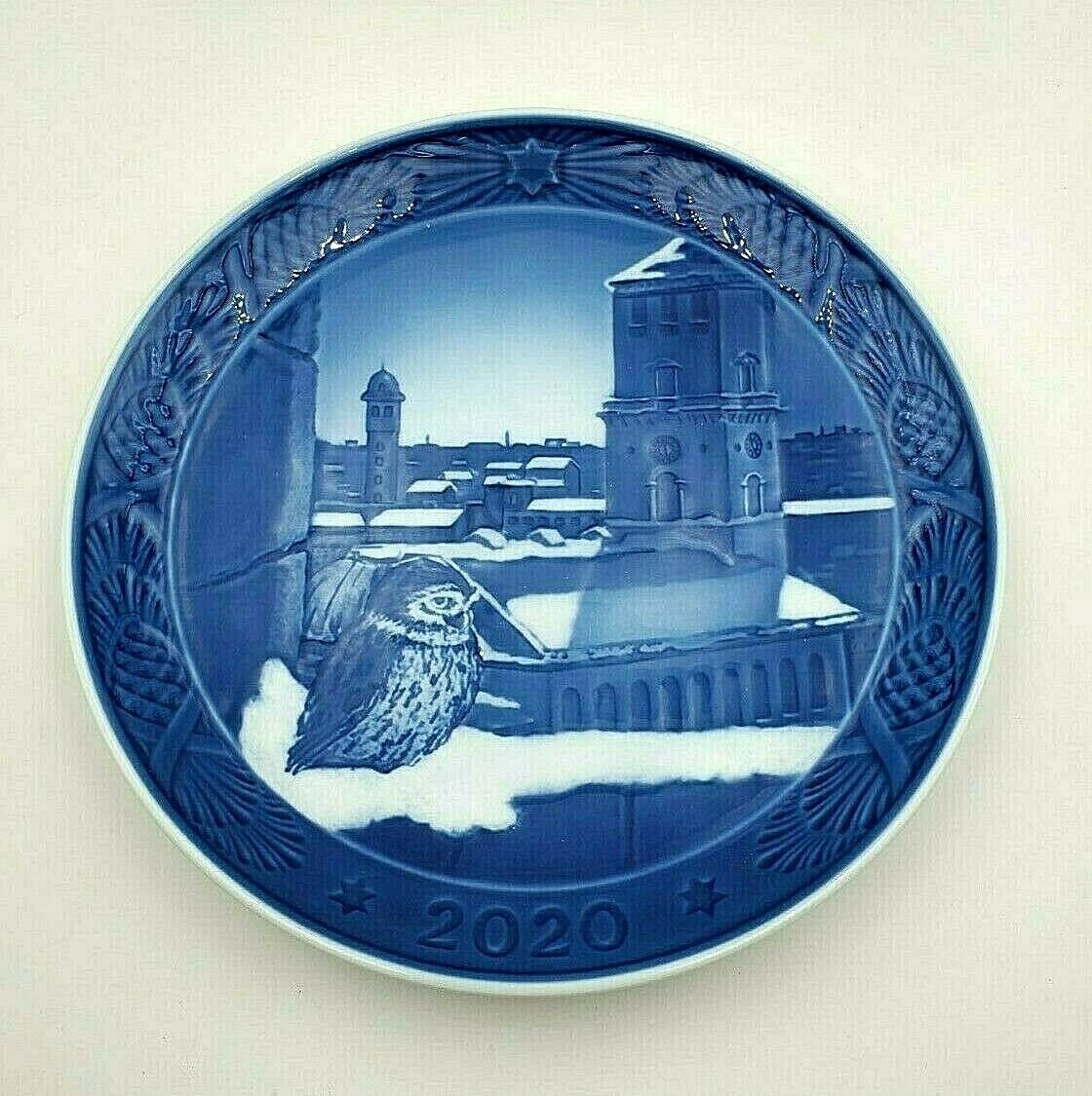 Primary image for  2020 Royal Copenhagen RC Christmas Plate  New in Box  Cathedral of Colpenhagen