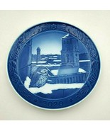 2020 Royal Copenhagen RC Christmas Plate  New in Box  Cathedral of Colp... - $96.00
