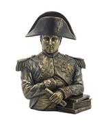 "9.75"" Napoleon Bonaparte Bust Statue Sculpture French Leader Military Figure - $67.50"