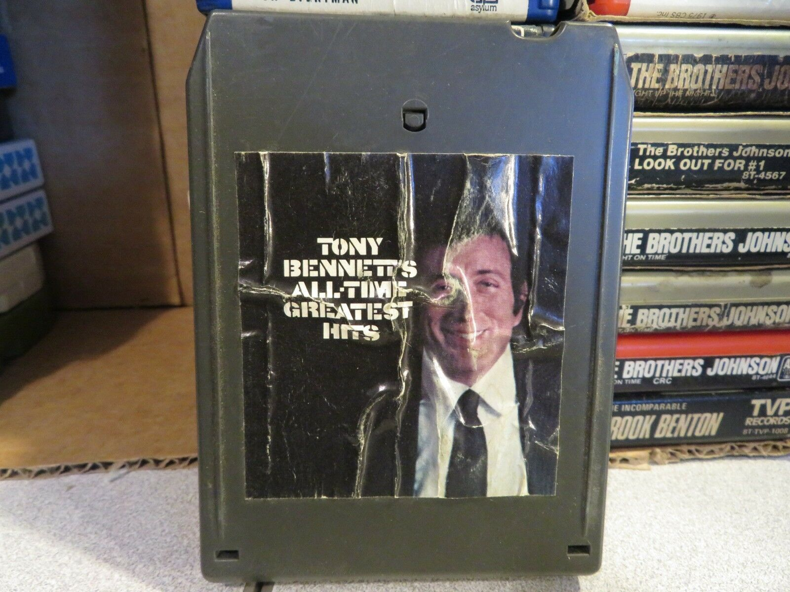 Primary image for TONY BENNETT All Time Greatest Hits (8-Track Tape)