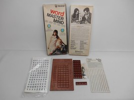 Old Vtg 1975 Invicta Word Master Mind Game no.3071 Unused Complete - $19.79