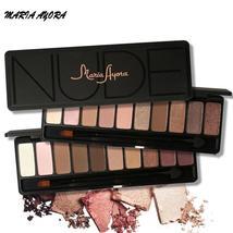 MARIA AYORA 10 Colors Eye Shadow Makeup Shimmer Matte Eyeshadow Earth Co... - $7.66+