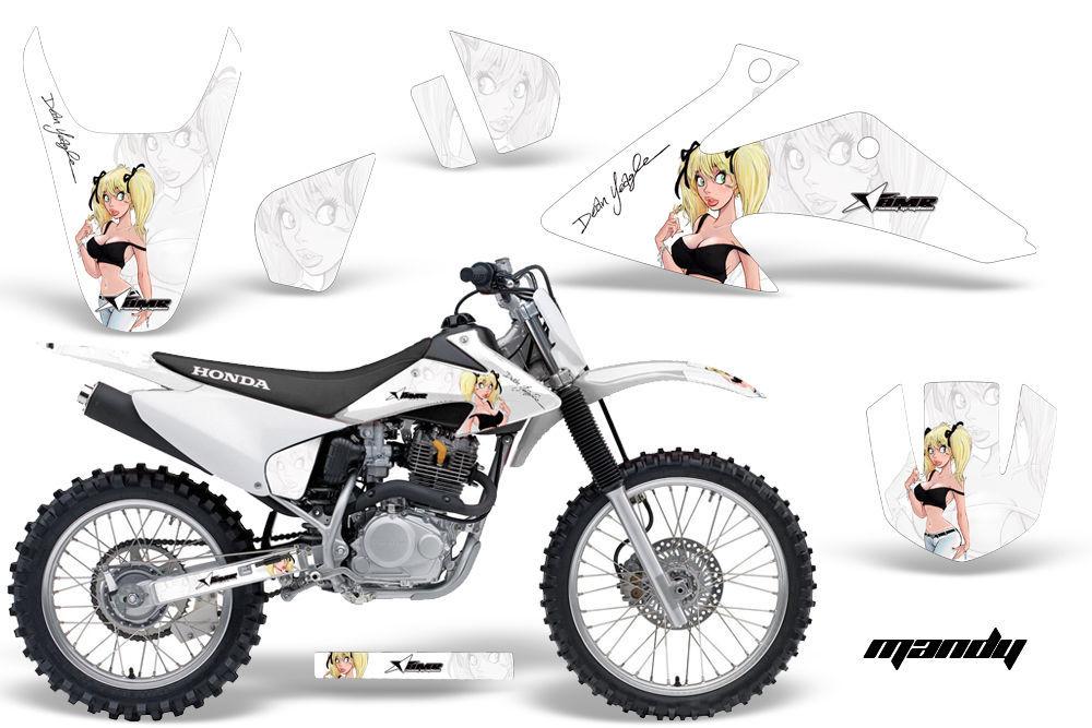 dirt bike graphics kit decal wrap for honda crf150 crf230f