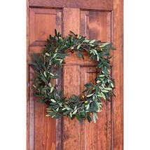 Nearly Natural 4773 Olive Wreath, 20-Inch, Green image 2