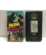 King Kong vs Godzilla Hollywood Movie Greats John Beck 1987 VHS Tape - $9.45