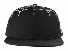 40 Oz NYC Forty Ounce New York Black Top Spider Web Snapback Baseball Hat NWT image 3