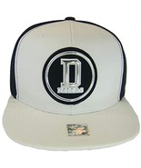 Dallas Men's Patch Style Breathable Snapback Baseball Cap (White/Navy) - $13.95