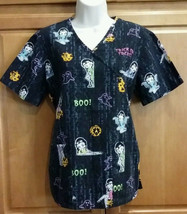Betty Boop Cartoon Womens Sz XS Halloween Hospital Nurse Doctor Uniform Scrubs  - $7.98
