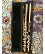 ALTUS AZUMINO JAPAN INTERMEDIATE FLUTE SILVER HEADJOINT SILVER PLATED BO... - $1,353.60