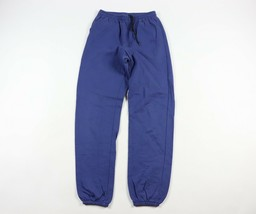 36fae271a6f60 Vintage 90s Nike Gray Tag Mens Large Spell Out Joggers Jogger Pants Blue  Cotton - $58.36