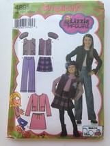 Simplicity 4895 Lizzie McGuire Pattern Size HH 3 4 5 6 Jacket Vest Pants Skirt - $6.97