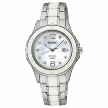 Seiko Women's SXDE85 Analog Japanese-Quartz Two Tone Watch NWT Box Free ... - $173.20