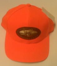 NEW - HUNTING CAP - ORANGE HUNTING CAP  - ONE SIZE FITS ALL  - $8.99