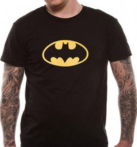 Batman Shield Logo T Shirt Official DC Comics Black S M L XL XXL Mens Ex... - $9.00+