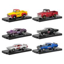 Drivers 6 Cars Set Release 58 in Blister Packs 1/64 Diecast Model Cars b... - $50.66