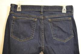 J. Crew Womens Denim Jeans Matchstick Dark Wash Skinny Sz. 27 Regular - $19.99