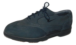 Mens NIKE GOLF Lace up Oxford, Nubuck leather sz 9 - $21.59