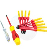 12pcs 1000V Insulated Shielded Changeable Phillips Slotted Screwdriver - $34.84