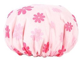 Thicken Double-layer Waterproof Shower Cap Bath/Spa Caps/Hats -05 - $10.34