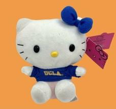 "Hello Kitty x UCLA Bruins 6"" Plush Sanrio 2012 Stuffed Animal Soft Toy W... - $24.70"