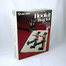 Toy Soldier Christmas Latch Hook It Rug Kit 20 x 27 Vogart Crafts 4316 - $29.69