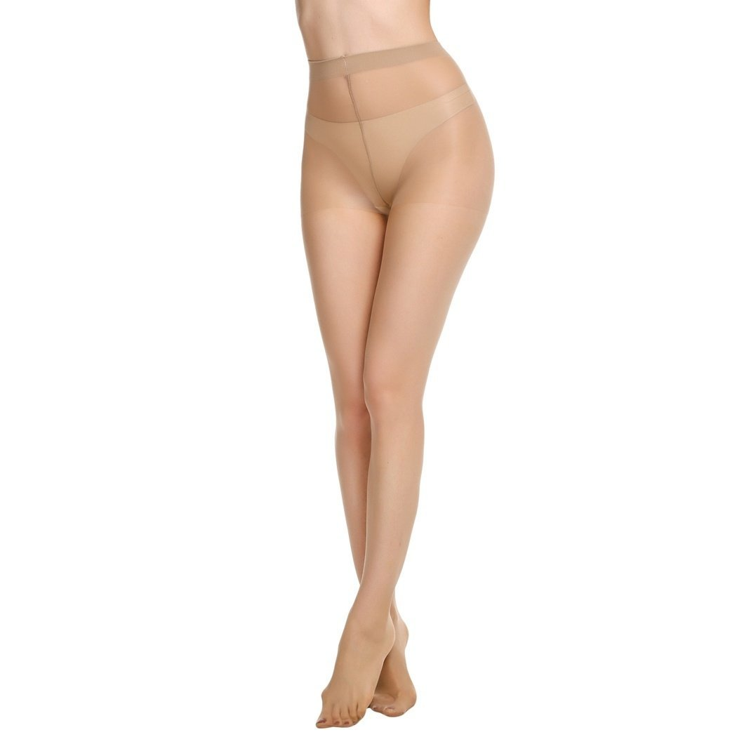 e11b165f930 Kilimall Avidlove Pack of 3 Women Silk Reflections Control Top All Sheer  Pantyho