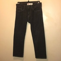 "Levi's 505 Black Denim Jeans Size 10H. W30"" X L26"" Pants Trousers - $16.38"