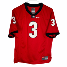 Georgia Bulldogs Nike Team Football Jersey Womens Large Red White Black ... - $26.63