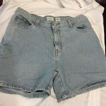 Calvin Klein Jeans Womens Easy Shorts Denim 10 Blue Jeans 100% Cotton Clothing - $23.13