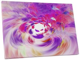 "Pingo World 0720QYA5L14 ""Vortex Abstract"" Gallery Wrapped Canvas Wall Art, 30"" x - $53.41"