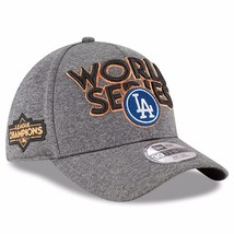 New Era Men's LA Dodgers Heather Gray 2017 National League Champions Loc... - $578,25 MXN