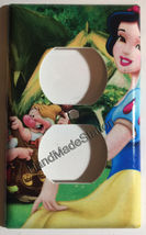 Princess Snow White Light Switch Power Duplex Outlet Wall Cover Plate Home decor image 2