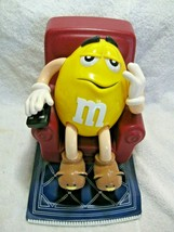 Vintage Collectible M&M PEANUT Recliner Candy Dispenser-MARS Candy Company Diner - $26.50
