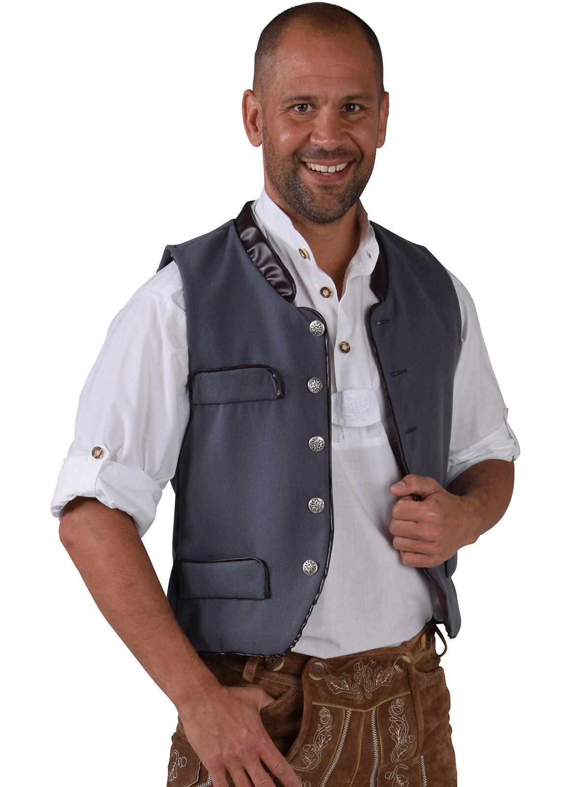Oktoberfest Waistcoat - Deluxe Wool - like , XS-XXL Bavarian