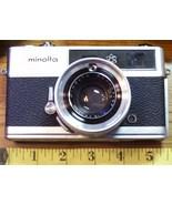 Minolta Electro Shot 1965 Rokkor QF 40mm F.1:1.8 w/Case - $13.50