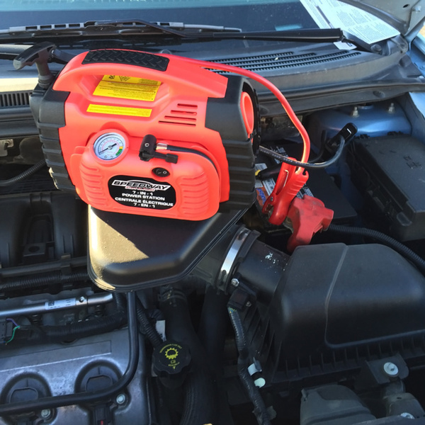 Generator Battery Cables : Battery charger jumper cable power station emergency